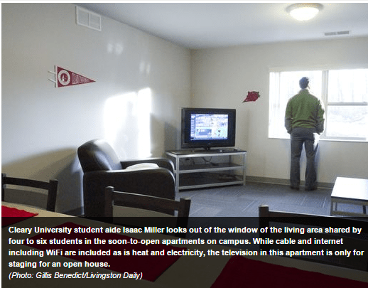 Students move into Cleary apartments